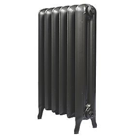 Cast Iron Princess 810 Designer Radiator Anthracite H: 810 x W: 665mm