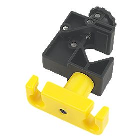 Cable Raiser Versatile Cable Fixing Clamp Black / Yellow