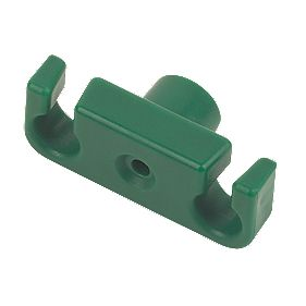 Cable Raiser Cable Holder Green 20 x 50 x 10mm