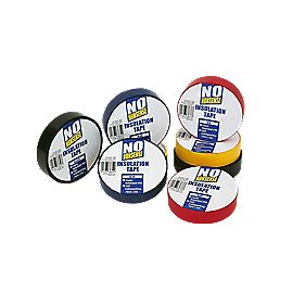 No Nonsense Insulation Tape Multipack 14Pcs Mixed 19mm x 33m