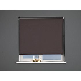 Blackout Blind Brown 60 x 170cm
