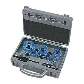Bosch Sheet Metal Holesaw 8 Piece Set