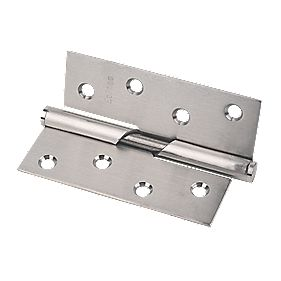 Eclipse Rising Hinge Right Hand Satin Stainless Steel 102 x 76mm Pack of 2