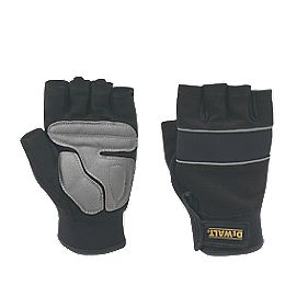 DeWalt Performance Performance Fingerless Gloves Black/Grey Large