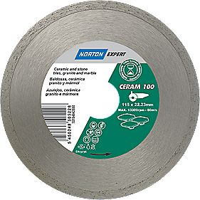 Norton Expert Classic Ceram Diamond Blade 115 x 22.23mm