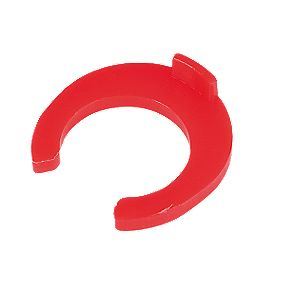 FloPlast Flo-Fit Collet Clips Red 10mm Pack of 50