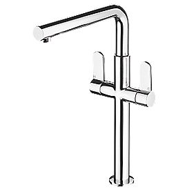 Bristan Vertico Sink-Mounted Mono Mixer Kitchen Tap Chrome