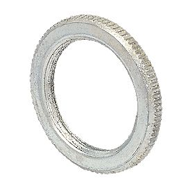 25mm Milled Edge Galvanised Lockrings - Pk 10