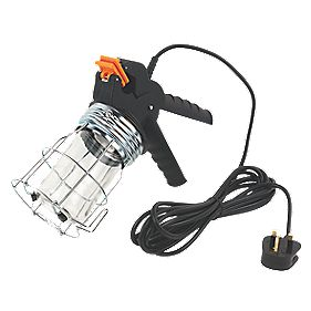 Philex Eco-Lamp Clip-On Hand-Held Work Light 240V 60W