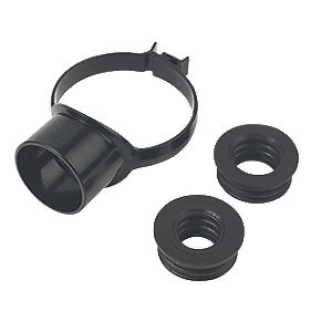 FloPlast Strap Boss 110mm Black SP319BL