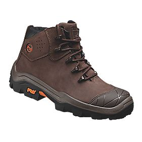 Timberland Pro Snyder Safety Boots Brown Size 8