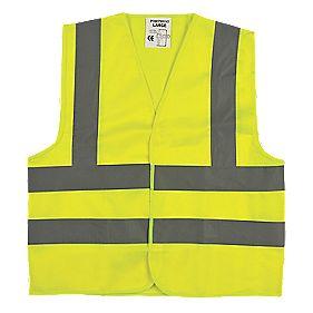 "Hi-Vis Junior Vest (Age 7-9) 35½"" Chest"