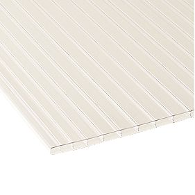 Corotherm Triplewall Polycarbonate Sheet Clear 980 x 3000mm
