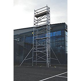 Lyte SF25NW82 Helix Narrow Width Industrial Tower 8.2m