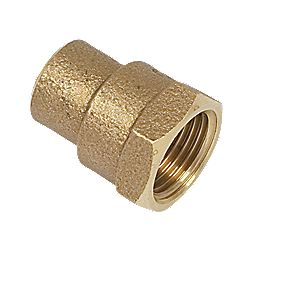 Yorkshire Solder Ring Female Coupler YP2 15mm x ½""