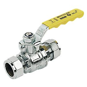 Pegler Ball Valve Yellow 22mm