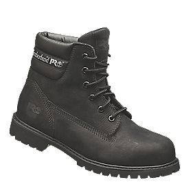 Timberland Pro Traditional Safety Boots Black Size 9