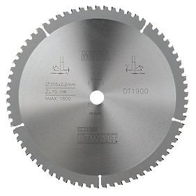 DeWalt DT1900-QZ Extreme Circular Saw Blade Stationary 355 x 25.4mm 70T