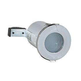 Robus RFS10165-01 Fixed Round Low Voltage Fire Rated Downlight White 12V