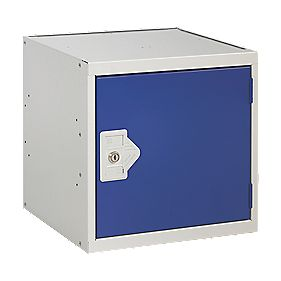 Security Cube Locker 380mm Blue