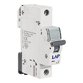 LAP 40A SP Type C Curve MCB