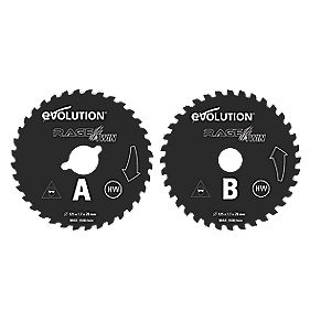 Evolution 125mm Twin Blades