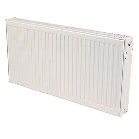 Kudox Premium Type 22 Double Panel Double Convector Radiator White 500x1200