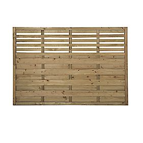 forest kyoto fence panels 1 8 x 4 pack decorative. Black Bedroom Furniture Sets. Home Design Ideas