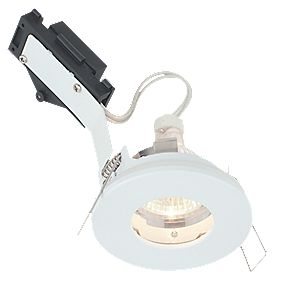 LAP Fixed Low Voltage Bathroom Downlight White 12V