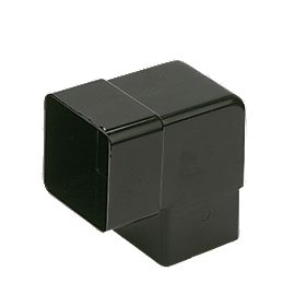 Square 92.5° Off-Set Bend Black
