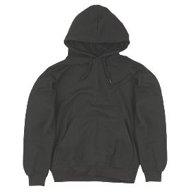 "Dickies Hooded Sweatshirt Black Large 44-46"" Chest"