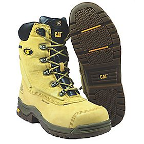 Caterpillar Supremacy Honey Safety Boot Size 7