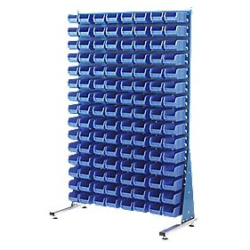MSS1.5 Spacemaster Single-Sided Storage Bin Kit 120 x TC2 Blue