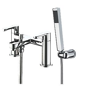 Bristan Nero Dual Lever Bath/Shower Mixer Tap