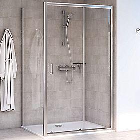 Aqualux shine 6 rectangular shower enclosure lh rh for 1700 shower door
