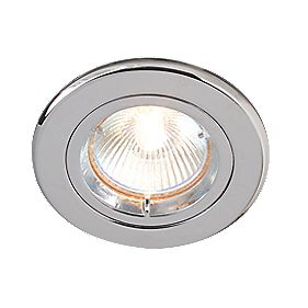 Robus Fixed Circular Downlights Kit Polished Chrome 12V