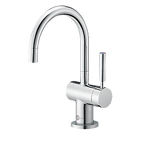 InSinkErator HC3300 Filtered Hot Water Side Lever Mono Mixer Kitchen Tap Chrome