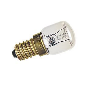 Sylvania Incandescent Pygmy Oven Lamp SES 90Lm 15W