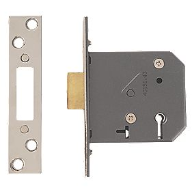 "Yale 5-Lever Deadlock Polished Chrome 3"" (76mm)"