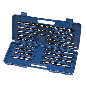 Power Master Auger Wood Drill Bits 15 Piece Set