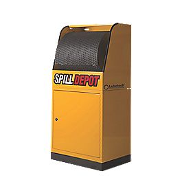 Lubetech Spill Depot 2-Part Cabinet & Dispensing Unit 600 x 450 x 600mm