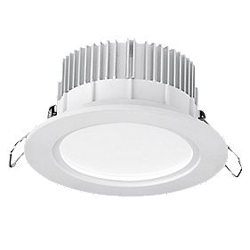 Aurora Fixed Round Dimmable LED Downlight 850Lm White 240V