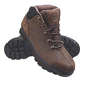Timberland Pro Splitrock Pro Safety Boots Brown Size 10