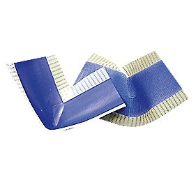 Mapeband Internal Angles Tape White / Blue 60 x 120mm Pack of 2