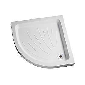 Mira Flight Quadrant Shower Tray Acrylic 900 x 900 x 90mm
