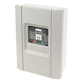 Securefast GE Fire Alarm Conventional Fire Panel 2 Zone