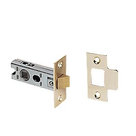 Tubular Sprung Latch Electro Brass 63mm