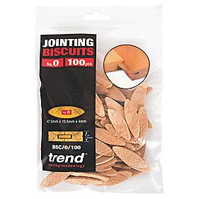 Trend No. 0 Jointing Biscuits Pack of 100
