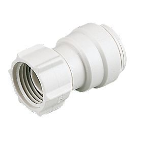 "JG Speedfit Tap Connector 15mm x ¾"" Pack of 2"