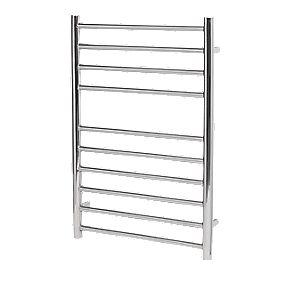 Reina Luna Flat Ladder Towel Radiator S/Steel 720 x 600mm 494W 1685Btu